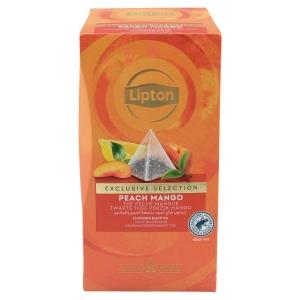 Boite de 25 sachets pyramide lipton the peche mangue