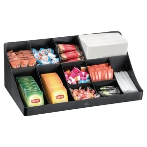 Cep Break Room Coffee Supplies Storage With 11 Compartments