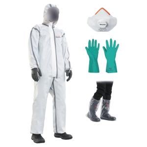 Kit Evolution 7 Honeywell comprenand masque gants combinaison et sur-botte