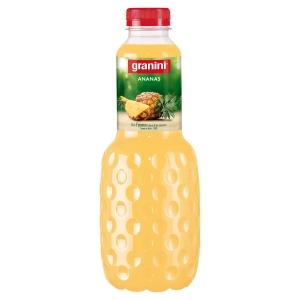 Pack de 6 bouteilles granini de jus  d ananas 1l