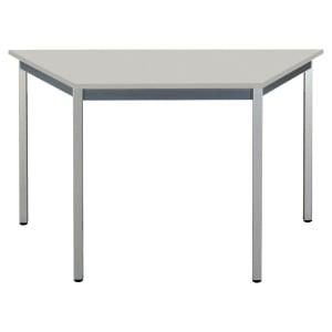 Table trapèze Buronomic - 60 x 120 cm - grise