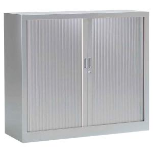 Armoire à rideaux monobloc Pierre Henry - 100 x 120 cm - aluminium