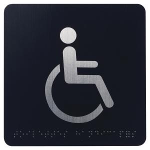 Picto braille toilette handicape 8055975