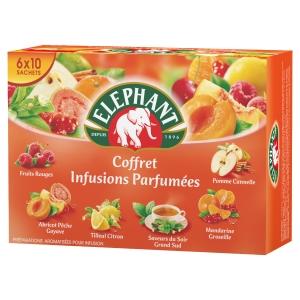 COFFRET DE 60 SACHETS D INFUSION ELEPHANT
