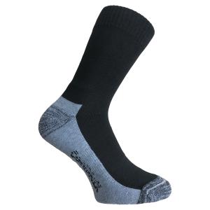 Chaussettes Smeltec hygiène - noir/gris - pointure 43/46 - la paire