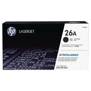 CARTOUCHE LASER ORIGINALE HP LASERJET PRO M402 NOIRE 26A CF226A