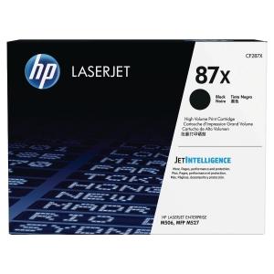 Cartouche laser HP n°87X noire haute capacité CF287X