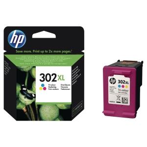 Cartouche d encre HP n°302Xl tricolore haute capacité