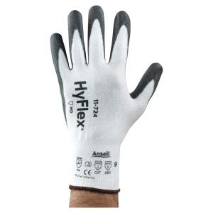 Paire de gants Ansell Hyflex 11-724 anti coupures blancs taille 9