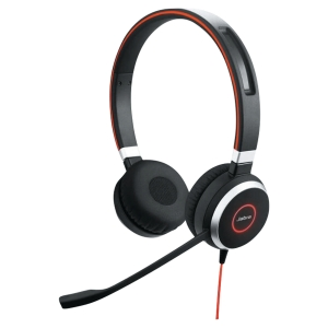 Casque filaire Jabra Evolve 40 UC DUO USB