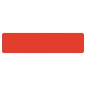 Symbole de marquage au sol Tarifold - format Ligne 50 x 200 mm - rouge - par 10