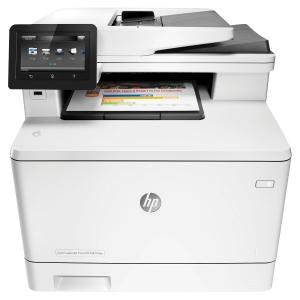Imprimante multifonction laser couleur HP LaserJet M477fdw