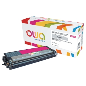 Cartouche de toner Owa compatible équivalent Brother TN328M - magenta