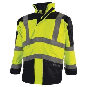Veste haute visibilité Codupal Milo multi-risques - jaune fluo - taille XL