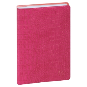 Journalier baby croco 10x15 rose