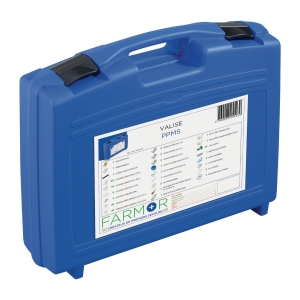 Valise de secours PPMS 30 personnes en polypropylène bleu