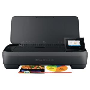 Imprimante multifonction jet d encre couleur HP OfficeJet Mobile 250 - wifi