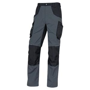 Pantalon de travail Deltaplus Mach Spirit 2 270 g/m² gris/noir taille L