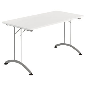 TABLE RECTANGULAIRE PLIANTE BLANC