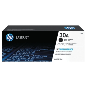 Cartouche de toner HP 30A - CF230A - noire