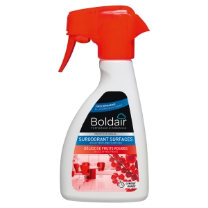 Spray boldair surodorant delice de fruits rouges 250 ml