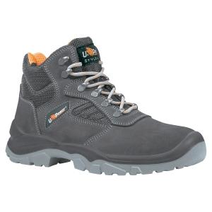 Chaussures de sécurité montantes Upower Real S1P - grises - pointure 45