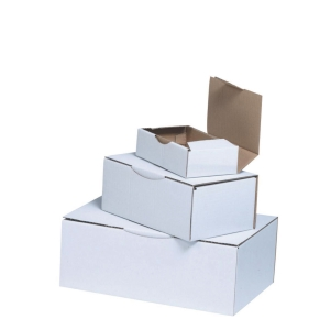 Boîte postale Eco testliner blanc - 200 x 100 x 100 mm - lot de 50