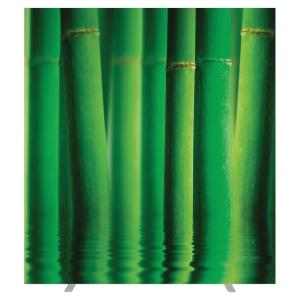 Cloison de bureau EasyScreen by PAPERFLOW - Largeur 160 cm - motif bambous
