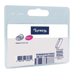 Cartouche jet d encre remanufacturée Lyreco remplace HP C2P25 magenta