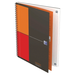 Cahier spirale Oxford Notebook B5 - 160 pages - quadrillé