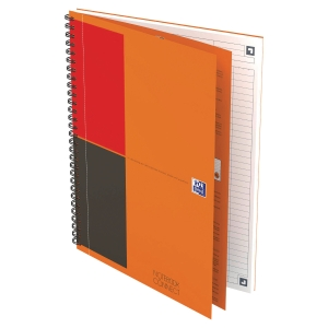 Cahier spirale Oxford Notebook B5 - 160 pages - ligné