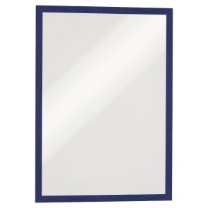 Cadre d affichage Durable Duraframe - A3 - magnétique - bleu - paquet de 5