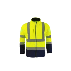 SOFSHELL ZOE JAUNE FLUO TAILLE XL