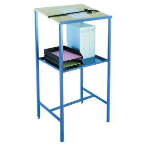 Pupitre Provost Eco - H 119 cm - bleu