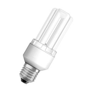 Ampoule fluocompacte tubulaire Osram Dulux Stick - 11 W - culot E27