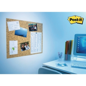 PANNEAU D AFFICHAGE AUTO-ADHESIF POST-IT DECOR LIEGE 58,5 X 46 CM
