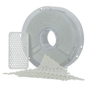FILAMENTPOLYFLEX 750GR BLANC PLA Flexible DAGOMA
