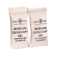 Caja de 5000 bolsas desecantes de humedad microbag 17x40 mm 1gr