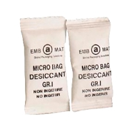 caja de 800 bolsas desecantes de humedad gel de silice 90x90 mm 10gr