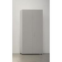 Armario con puerta, medidas 195x45x90 cm haya natural
