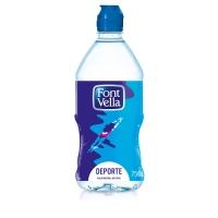 Pack de 15 botellas de 75cl de agua FONT VELLA
