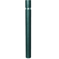 Pilona Barcelona de tubo metálico ø96×1000 mm 1003 mm de altura.