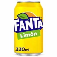 Pack de 24 latas de FANTA limón de 33 cl