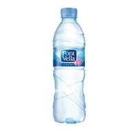 Pack de 24 botellas de 0,5L de agua FONT VELLA