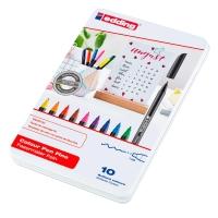 Pack 10 rotuladores EDDING 1200 punta de fibra colores surtidos