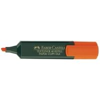 Marcador fluorescente FABER-CASTELL Textliner 48 color naranja