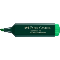 Marcador fluorescente FABER-CASTELL Textliner 48 color verde
