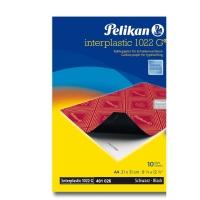 Paquete de 10 hojas de papel carbón negro PELIKAN