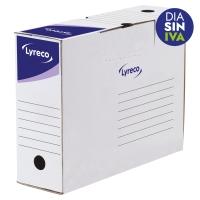 Pack 25 cajas archivo definitivo  formato A4  LYRECO Dimensiones: 250x330x94mm