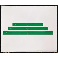 Regla milimetrada FABER CASTELL de 30 cm color verde
